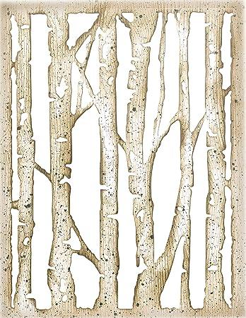 Sizzix Thinlits Die Branched Birch by Tim Holtz 663108