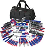WORKPRO W009037A 322-Piece Home Repair Hand Tool Kit Basic Household Tool