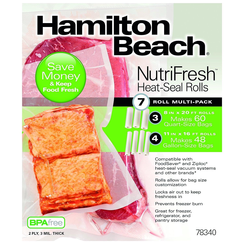 Hamilton Beach 78340 Heat Seal Roll Combo-Pack