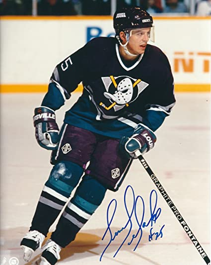 quality design 39465 82997 Autographed Terry Yake 8x10 Anaheim Ducks Photo at Amazon's ...