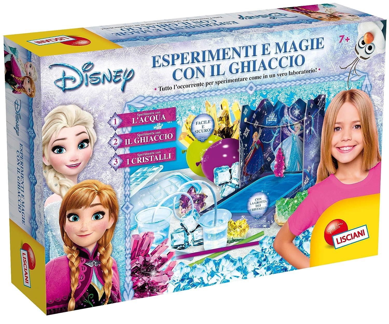 Liscianigiochi 68043 Frozen Esperimenti e Magie con Il Ghiaccio Multicolore
