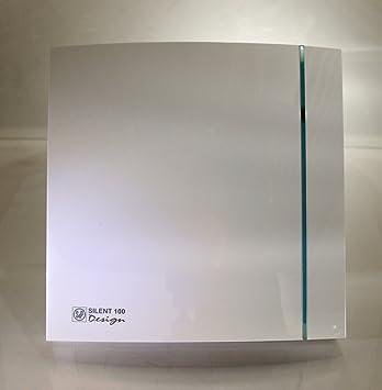 Soler & Palau Silent 100 Design CZ - Ventilador empotrable, muy ...