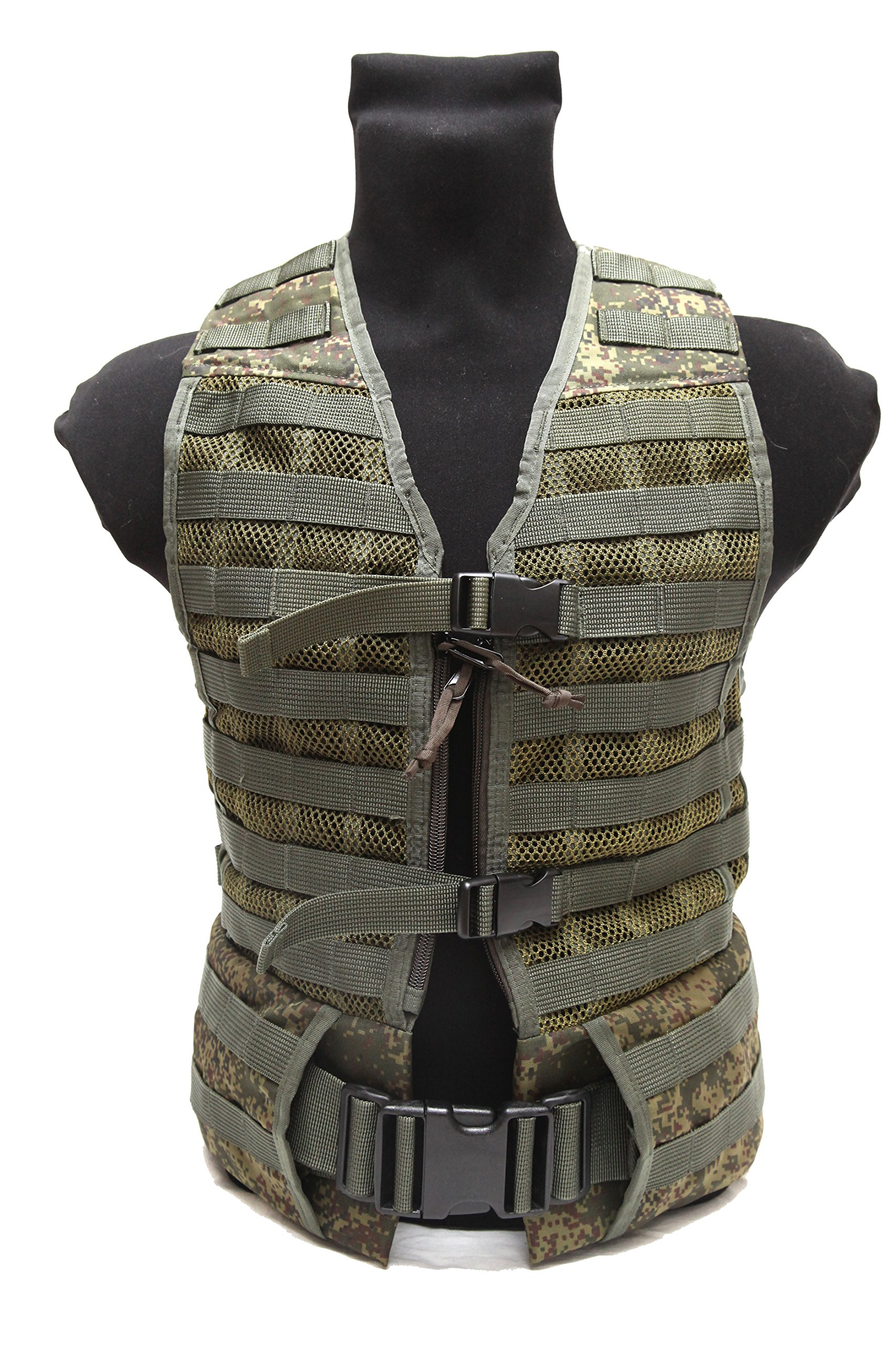 Tactical army military Russian 6sh117 assault vest EMR digital flora by Techincom