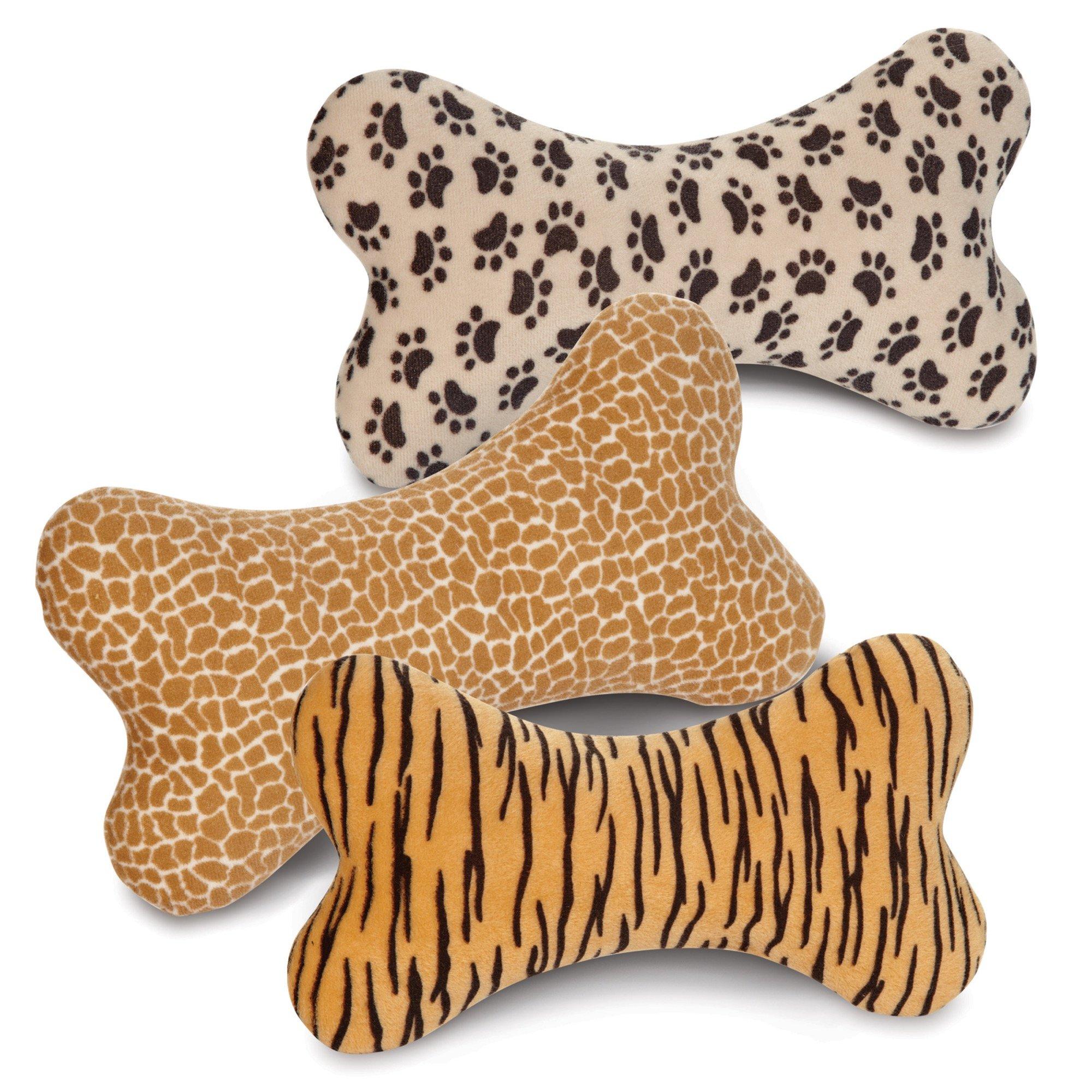 Zanies Wild Style Bone Pet Dog Toys 57 Piece Refill Pack