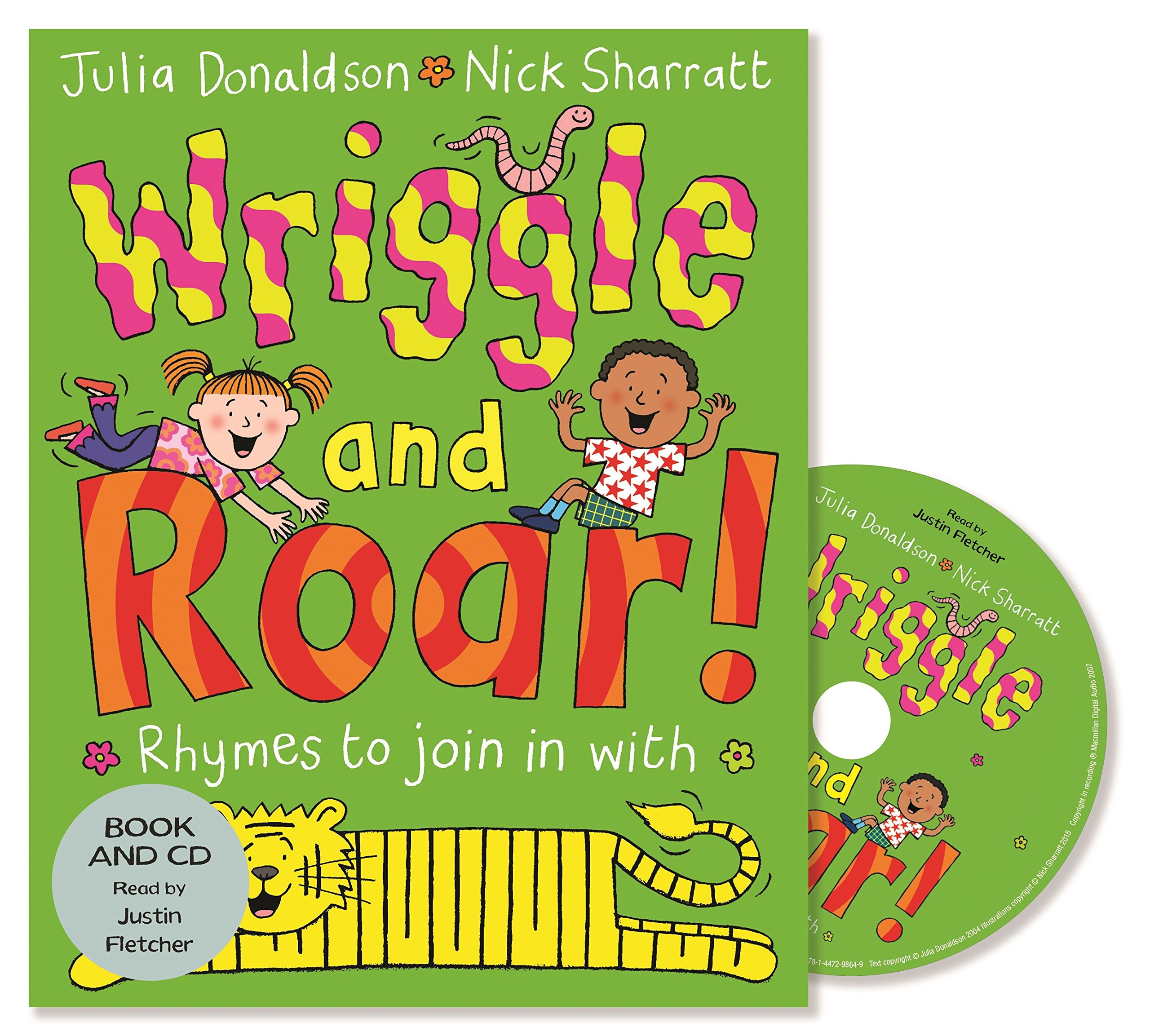 Wriggle and Roar!: Book and CD Pack: Amazon.es: Donaldson, Julia ...