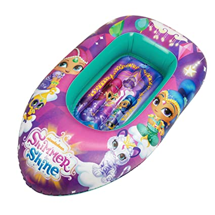 Amazon.com: Shimmer and Shine – Boat Inflatable SAICA 2644 ...