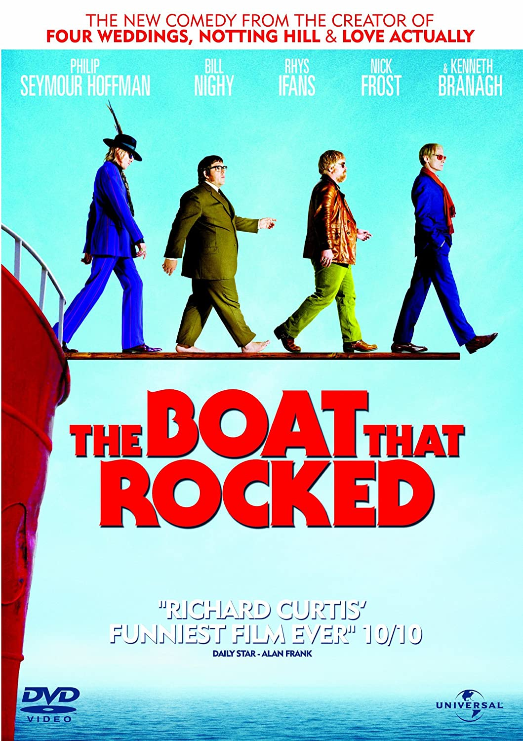 Double wedding soundtrack - The Boat That Rocked Dvd 2009