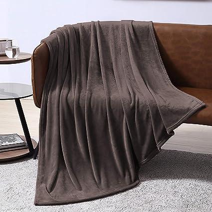 Amazon.com: Manta de forro polar EXQ Home para cama o sofá ...