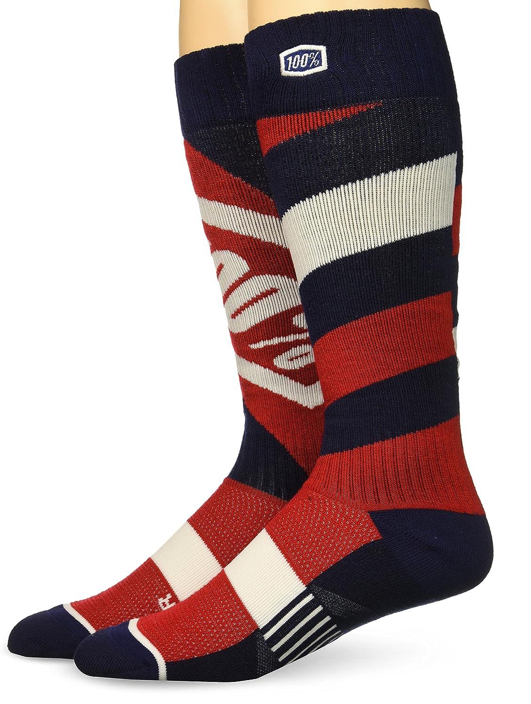100% Unisex-Adult Torque 8' Mid-Calf Riding Socks (Red, Small/Medium) 24007-003-17