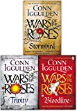 Wars of the Roses Series Collection Conn Iggulden 3 Books Set (Stormbird, Trinity, Bloodline)