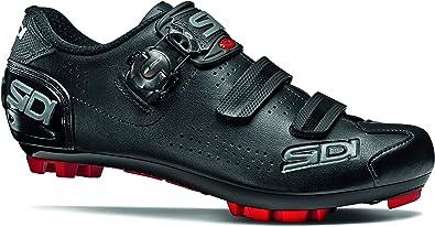 Sidi Trace Mountain Bike MTB Shoes Black Red Size 42.5 EU