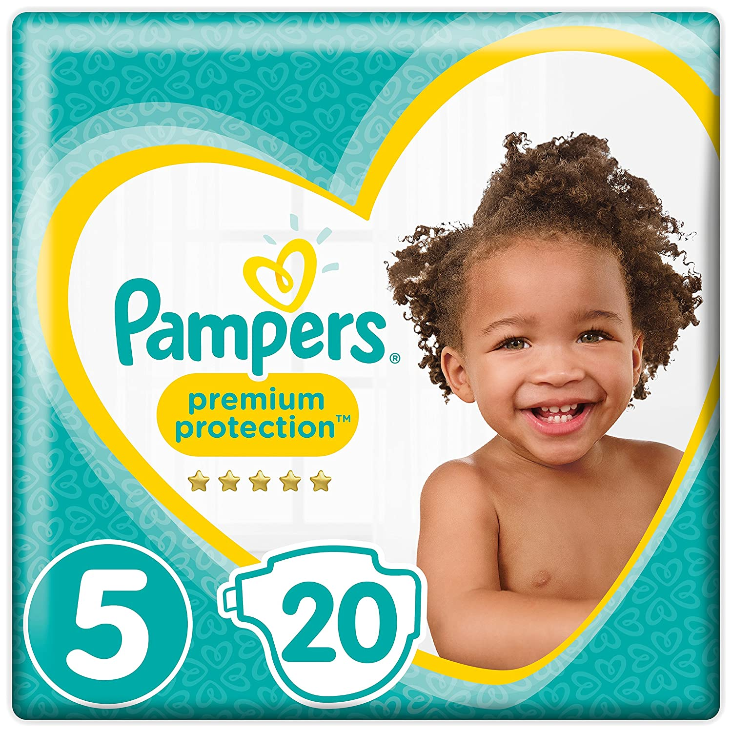 1,5-2,5 kg Pampers Premium Protection Baby Windeln 6 x 24 St/ück Gr.0 Micro 6er Pack