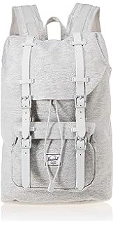 80cdc913c8 Herschel Little America Mid-Volume Backpack Light Crosshatch Grey Rubber