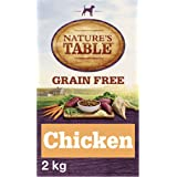 Nature's Table Adult Complete Dry Dog Food Grain Free Chicken with Sweet Potato and Vegetables, 2 kg (Pack of 3)