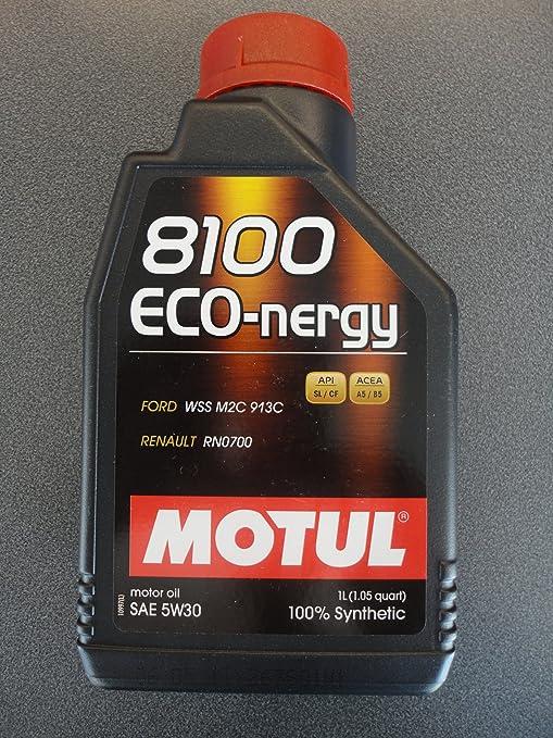 MOTUL 8100 eco-nergy 5 W30 Totalmente sintético Aceite de motor para las nuevas Cars