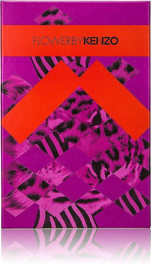 KENZO FLOWER BY KENZO EAU DE PERFUME 50ML VAPO. RECARGABLE + BODY MILK 50ML + NECESER: Amazon.es: Belleza