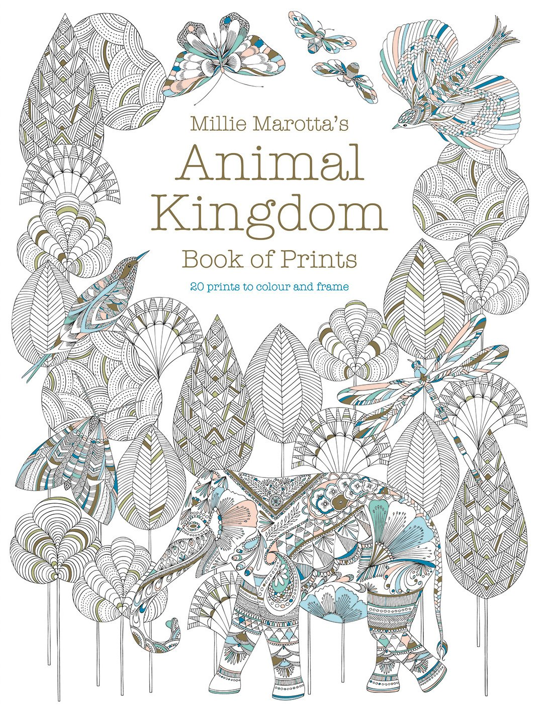 Coloring book animal kingdom - Animal Kingdom Book Of Prints Colouring Books Amazon Co Uk Millie Marotta 9781849944014 Books