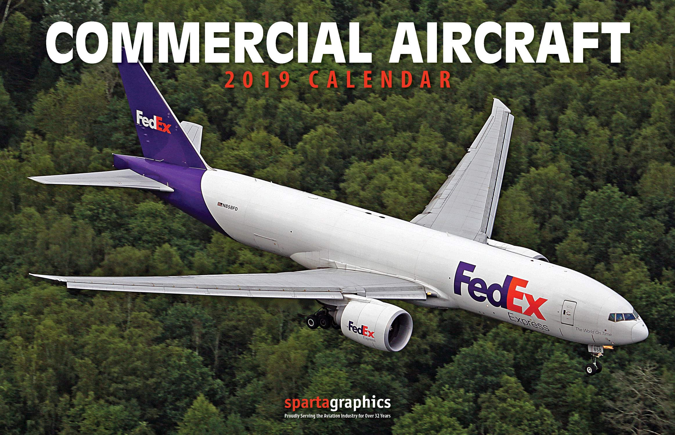 Download 2019 Commercial Aircraft Deluxe Wall Calendar ebook