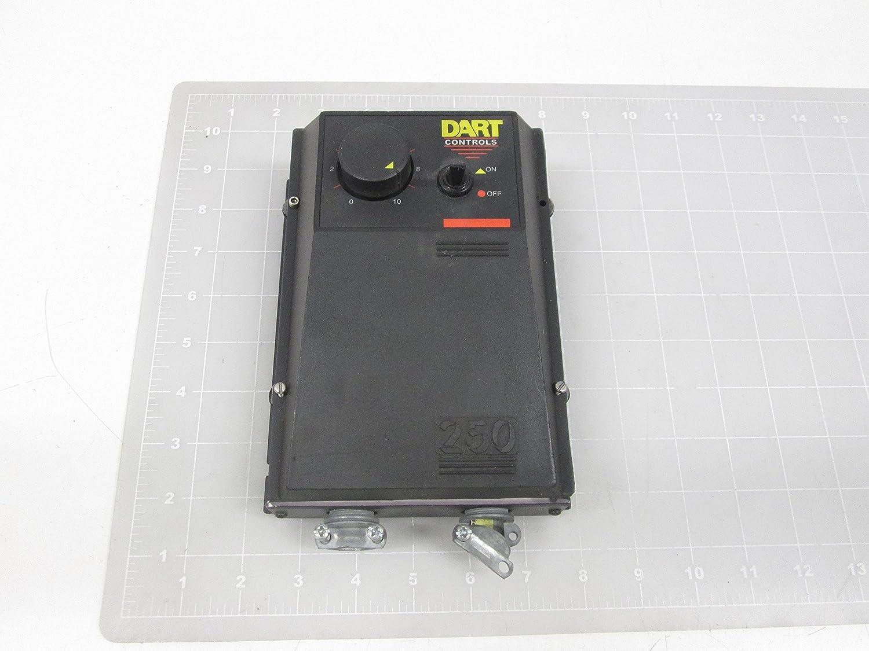 DART CONTROLS 253G-200E 1/8-2.0 HP, Dual Voltage Control, NEMA 4/12, 250 Series DC Motor Speed Control, DC Drive