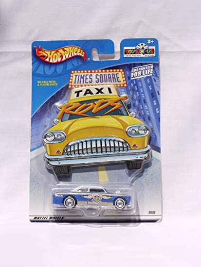 Amazon Com Hot Wheels Toys R Us Times Square Taxi Rod No 9 2001