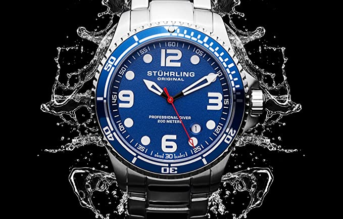 stuhrling dive watch review
