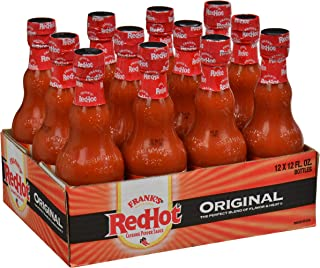 product image for Frank's RedHot Original Cayenne Pepper Sauce, 12 fl oz (Pack of 12)