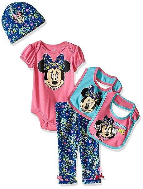 556695442a1d Disney Baby Minnie Mouse 5 Piece Layette Box Set