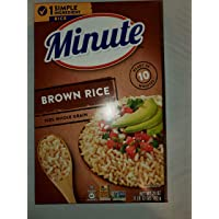 Minute Whole Grain Brown Rice, 28 oz, (Pack of 6)