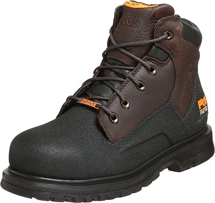 Timberland PRO Men's 47001 PowerWelt Waterproof Steel Toe Boot