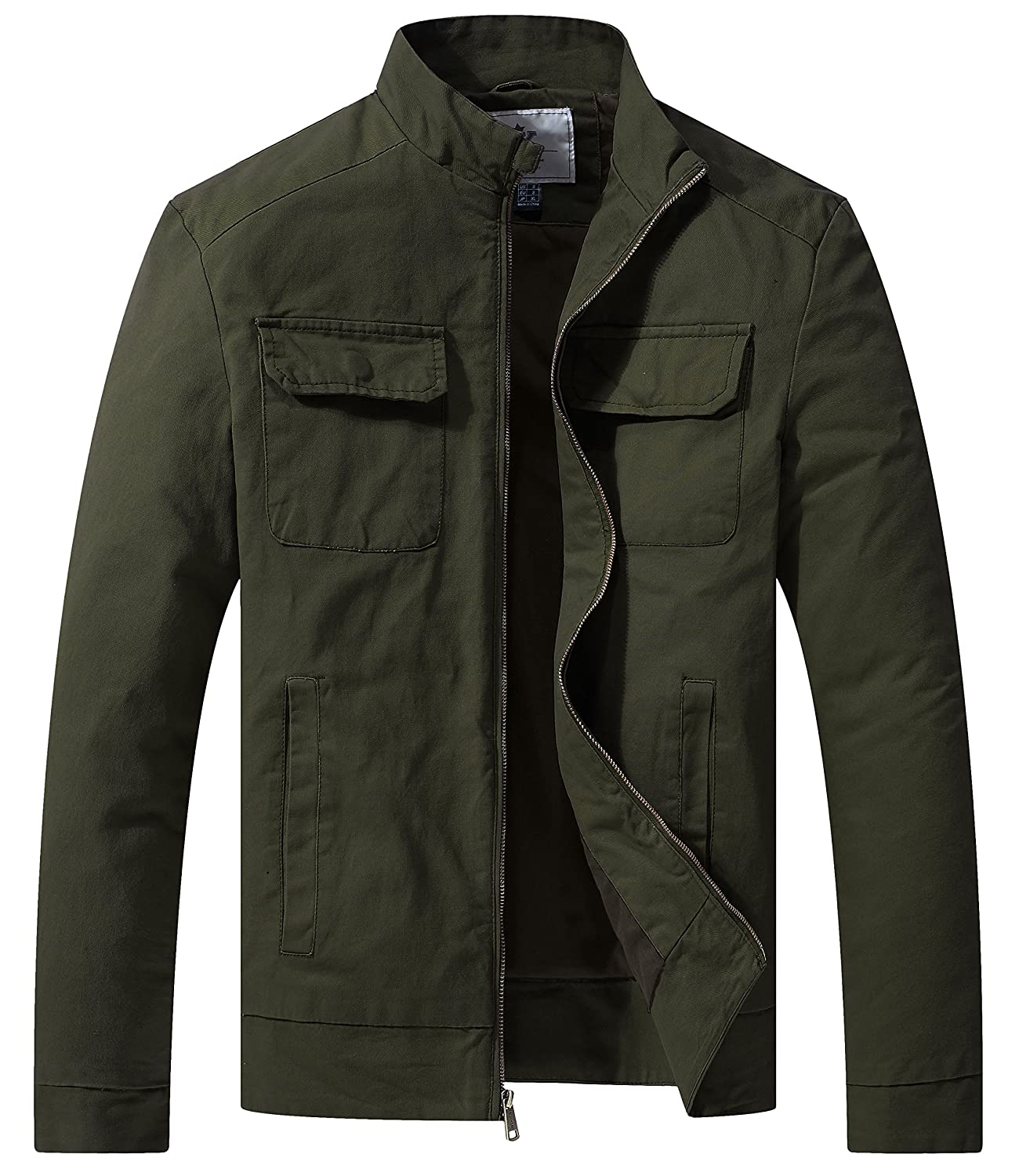 Men's Fall Casual Army Lightweight Jacket