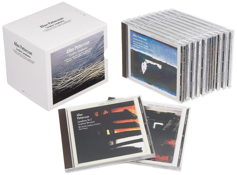 ペッテション:交響曲全集 (12枚組ボックスセット) (Allan Pettersson: Complete Symphonies)