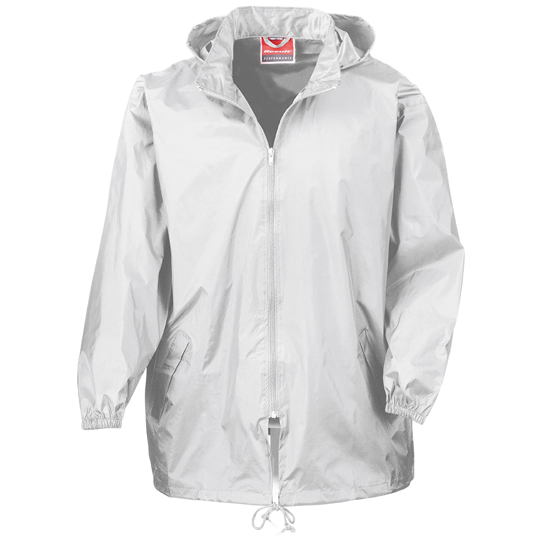 Result Mens Lightweight Waterproof Windproof Rain Jacket at Amazon