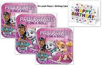 Amazon Paw Patrol Skye Girl Dog Pink Decoration Party