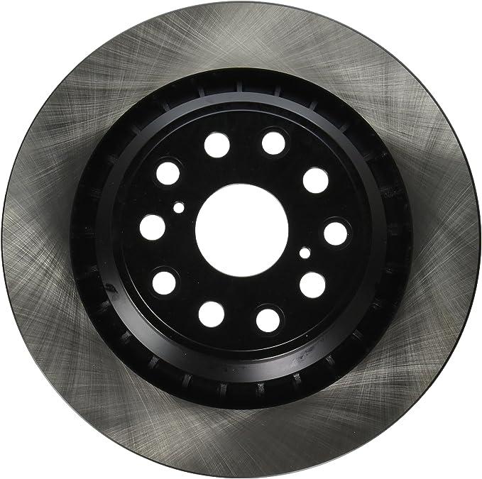 Rear DuraGo BR900394-02 Solid Brake Rotor