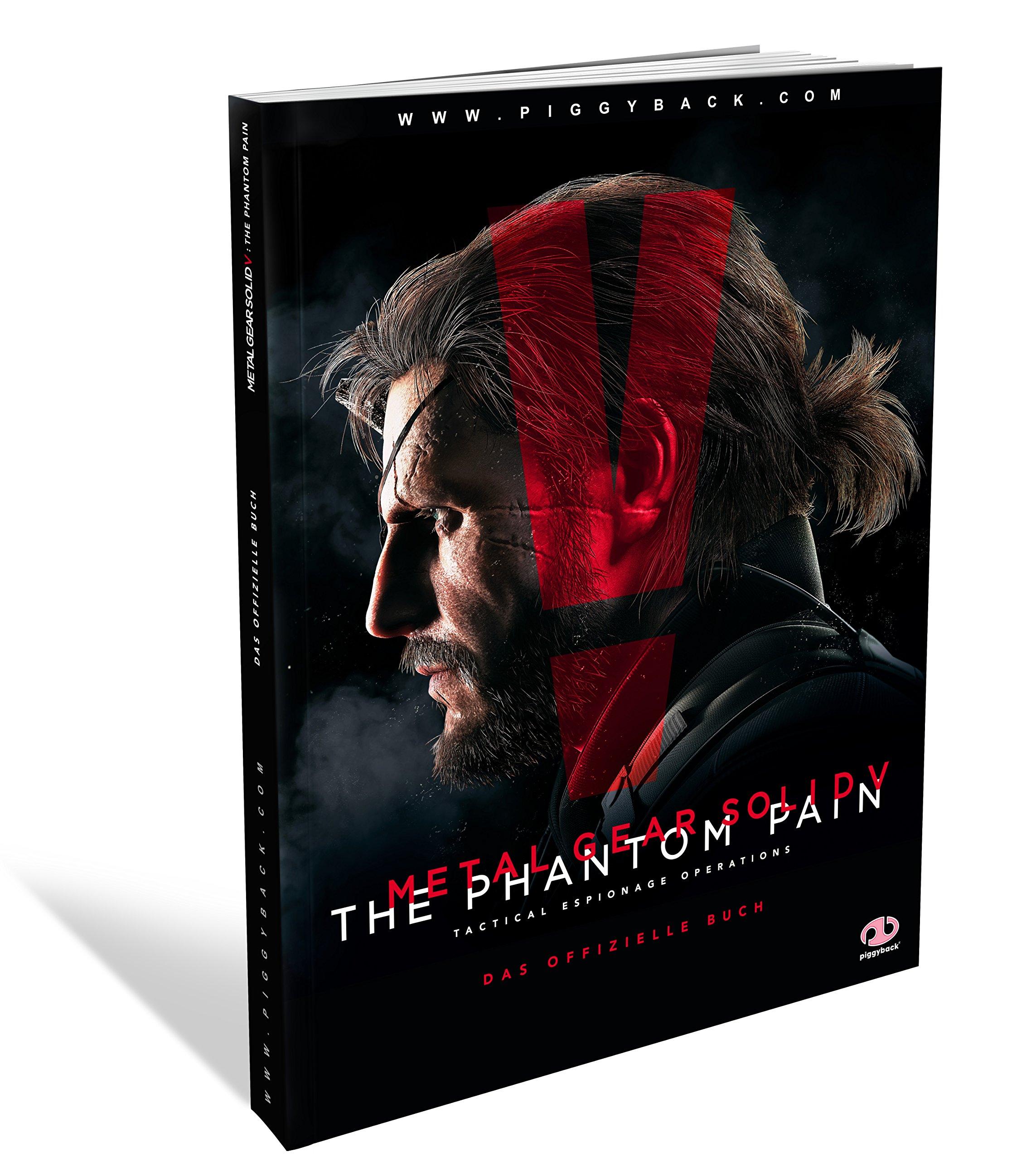Metal Gear Solid 5 - The Phantom Pain (Offizielles Lösungsbuch)