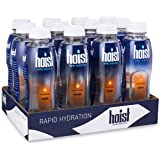 Hoist Electrolyte-Replenishing Premium Hydration Drink, Orange, 16.9oz Bottles (Pack of 12)