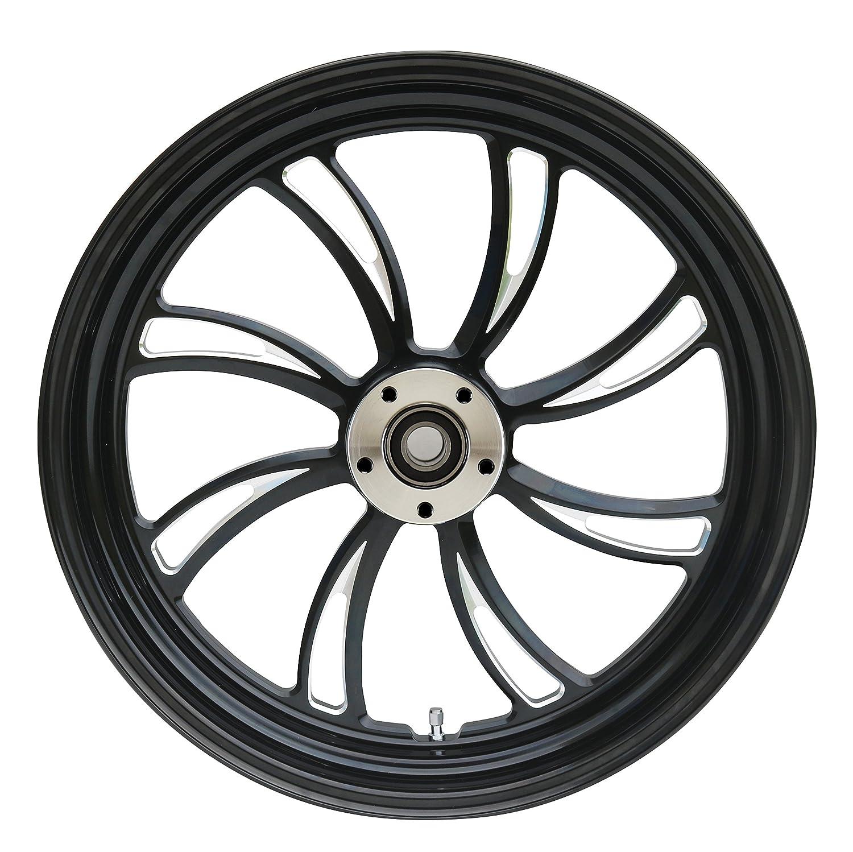 Dual Disc 21x 3.5 Ultima/¨ Kool Kat/¨ Aluminum Front Wheel 2000 /& Later Sealed Ball Bearings and 1 Axle