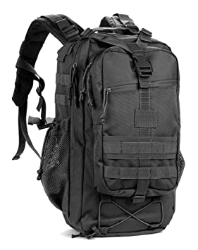 Red Rock Outdoor Gear Summit Backpack (Black), Hiking Daypacks ...