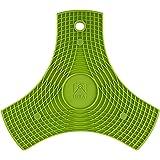 BRA Safe Salvamanteles de Silicona Multiusos imantados, 2 Unidades, Color Lima