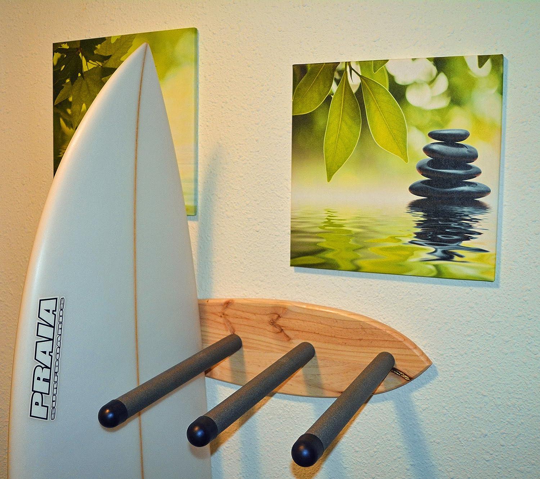 05 Art Deco. Soporte Tablas Rack Surf Natural: Amazon.es: Hogar
