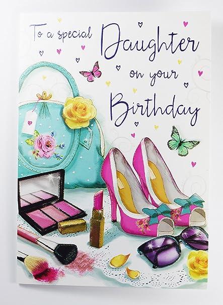 Para una hija especial en tu tarjeta de felicitación de ...