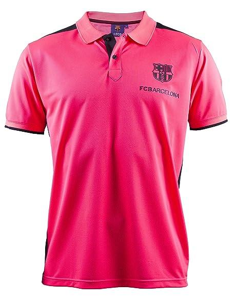 FC Barcelone - Polo oficial para hombre, talla de adulto Rosa ...