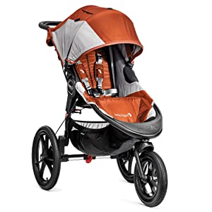 Baby Jogger Summit X3 Single Stroller Orange/Gray