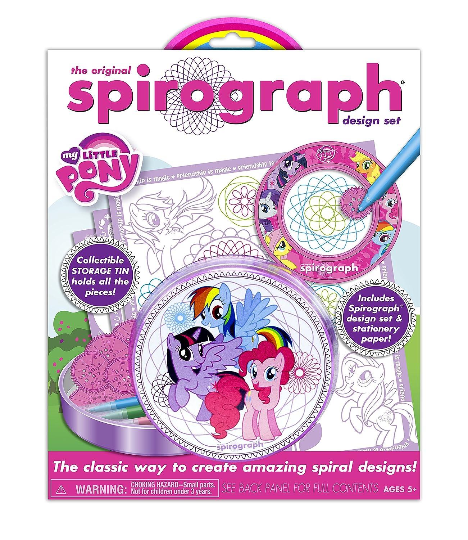 Kahootz Spirograph Tin & Pad My Little Pony Playset Kahootz - Toys 1050