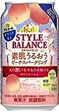 アサヒスタイルバランス素肌うるおうピーチスパークリング缶 [ ノンアルコール 350ml×24本 ]