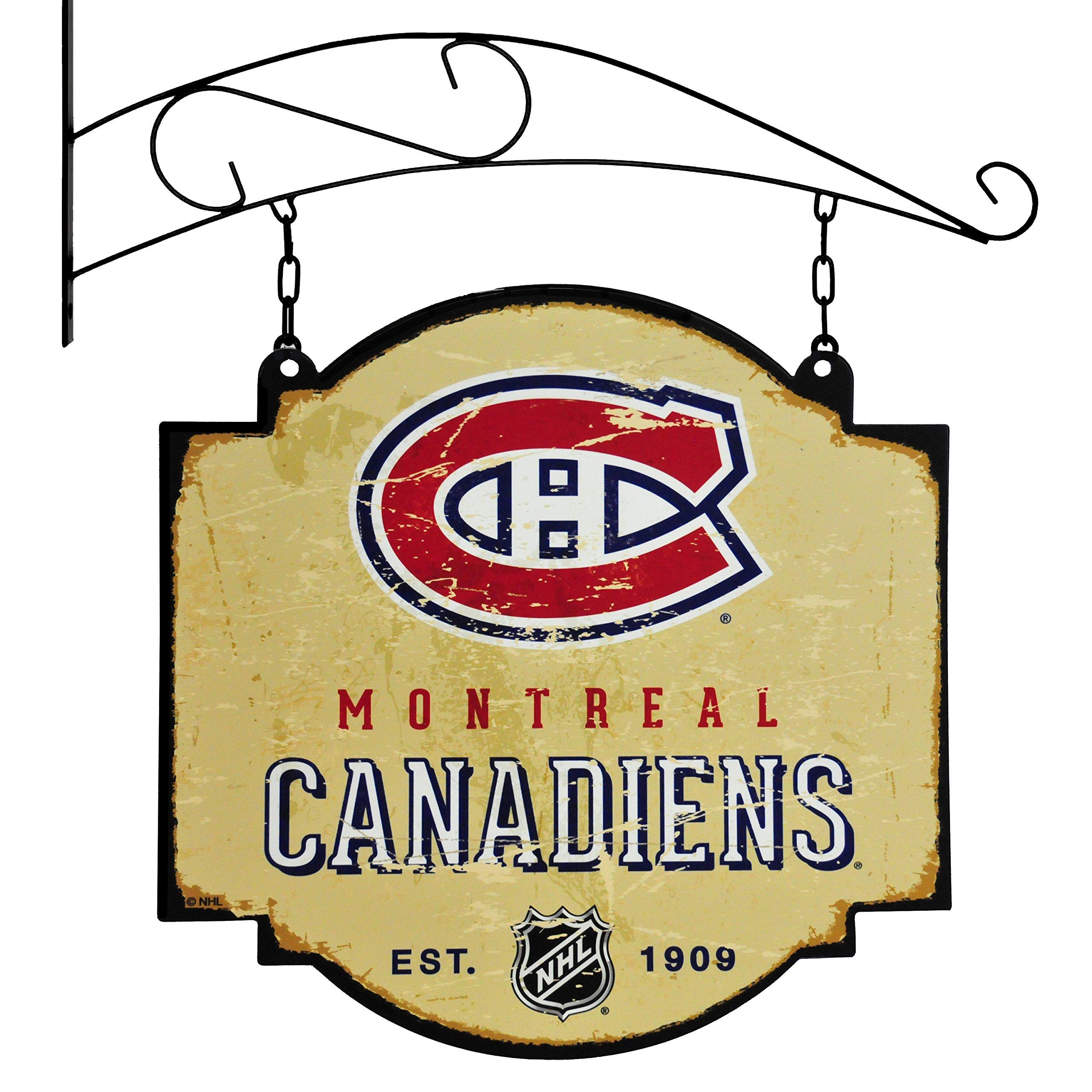 Winning Streak NHL Montreal Canadiens Vintage Tavern Sign