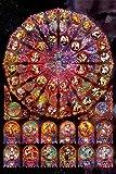 1000ピース ジグソーパズル めざせ!パズルの達人 48本の薔薇 (50x75cm)