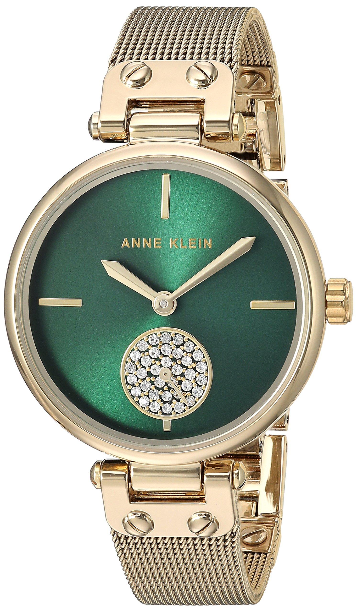 Women's Swarovski Crystal Accented Mesh Bracelet Watch
