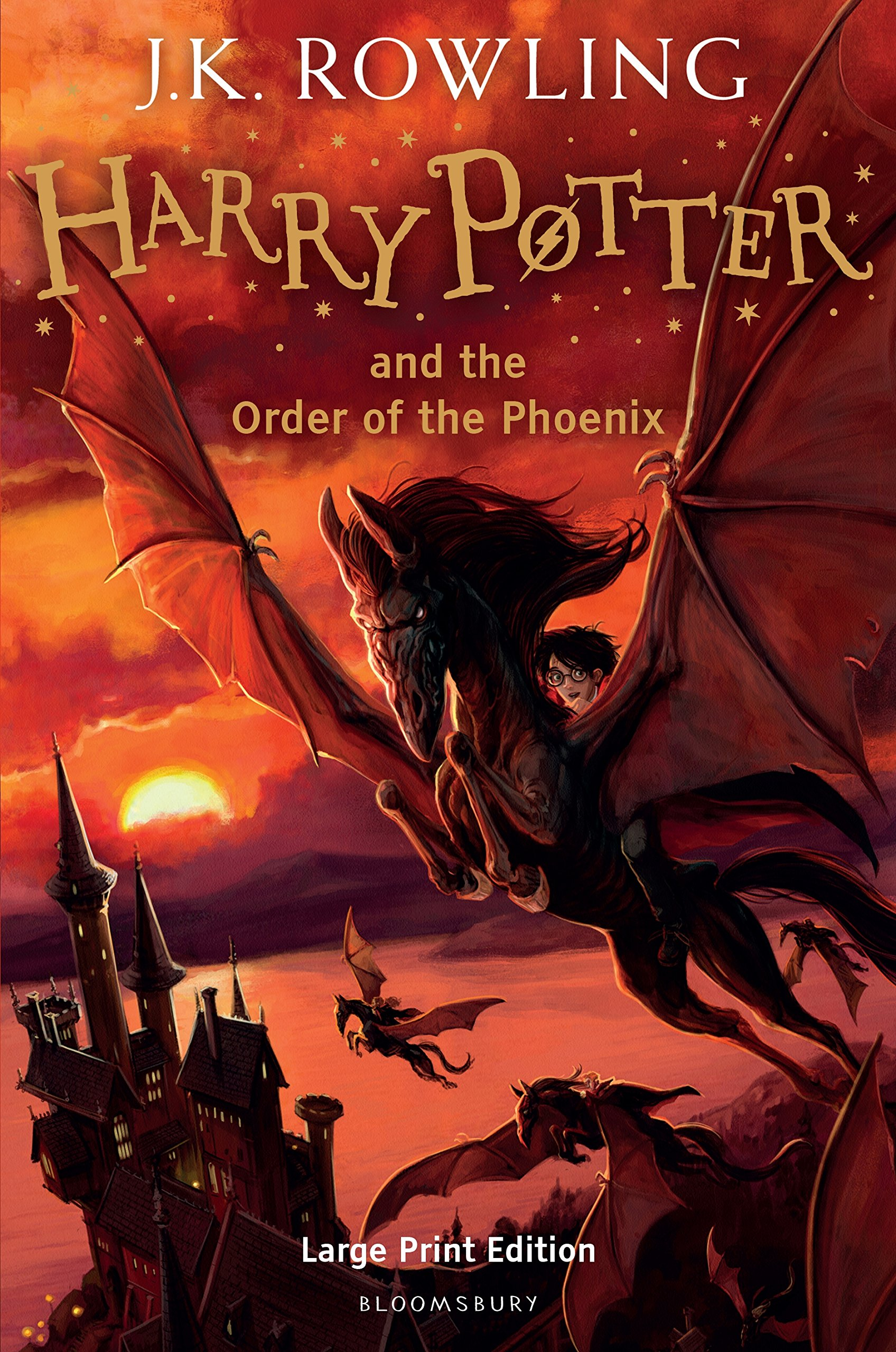Harry Potter And The Order Of The Phoenix Rowling J Kf 8601415889192 Amazon Com Books