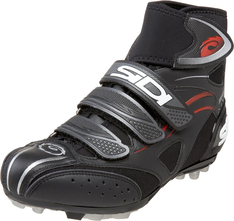 Sidi Diablo G-Tex, Zapatillas de Ciclismo para Hombre, Negro, 40 ...